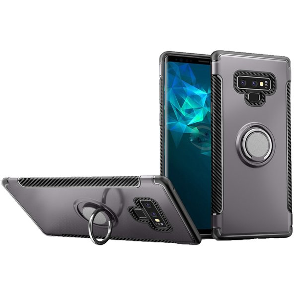 Samsung Galaxy Note 9 Hülle mit Ring TPU Silikon Case...