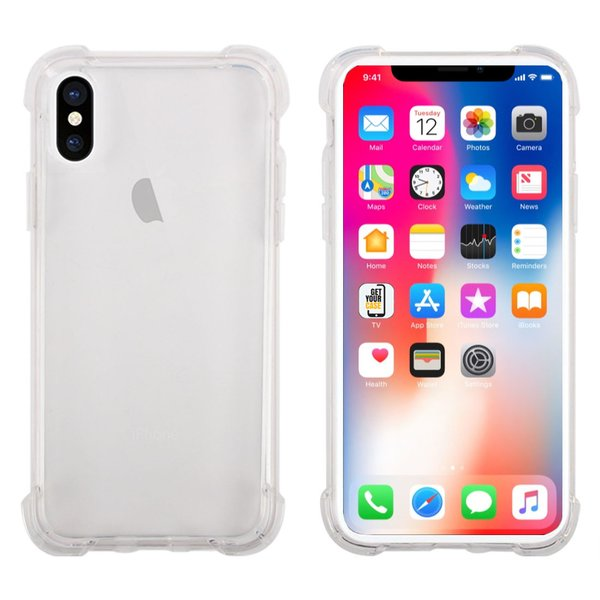 iPhone XS / iPhone X Hülle Shockproof stoßfester Bumper...