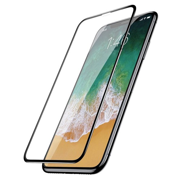 iPhone X XS XI  Panzerglas Full Cover Schutzfolie 9H...